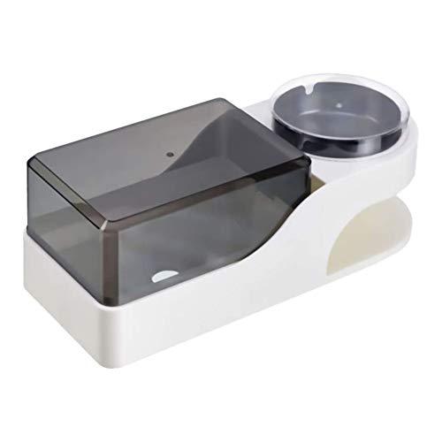 YXZN Distributeur De Papier Toilette Cendrier De Cigarette avec Couvercle Support De Papier Essuie-Tout Support Mural pour Salle De Bain Douche Salon