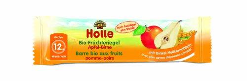 Holle Bio-Früchteriegel Apfel-Birne, 10er Pack (10 x 25 g)