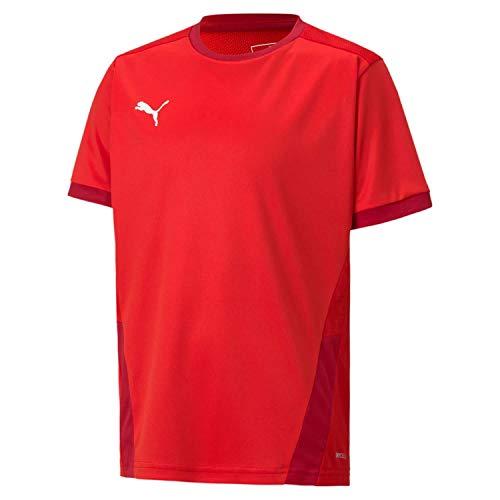 PUMA Jungen T-shirt, Puma Red-Chili Pepper, 128