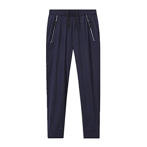 N\P Verano Hombres Deportes Pantalones Deportivos Slim Stretch Loose Men
