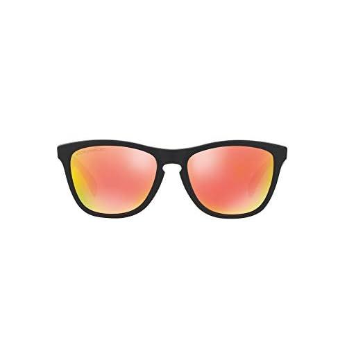 Ray-Ban 0OO9013, Occhiali da Sole Uomo, Oro (Matte Black), 54
