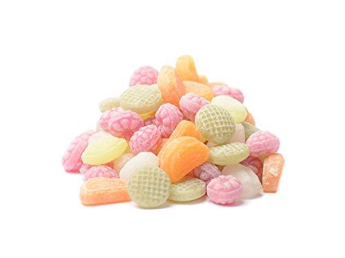 Früchtemischung Kräuterbonbons Fruchtbonbons Frucht Bonbons kandiert 120g