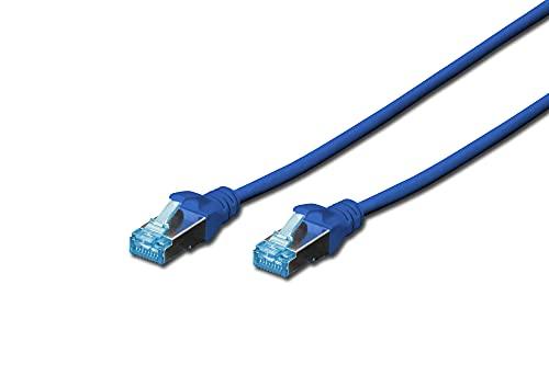 Digitus Patch Cable, SFTP, CAT5E, 5m, Bleu–câble réseau (SFTP, CAT5E, 5m, Bleu) Bleu