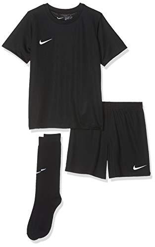 Nike Kinder Park Kit Trikotset, Schwarz (Black/White), M (110-116)