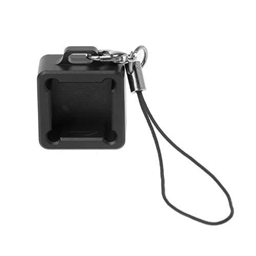 juqingshanghang1 1 stück Keyboard Base Cube Zucker eloxiert aluminiumdosendoper Tester Basis für mechanische Tastatur (Color : Black)