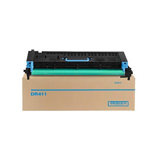 Adecuado para Kit De Batería KONICA MINOLTA DR411, Compatible Reemplazar KONICA MINOLTA BIZHUB223 283 584 423 7828 7628 363 364 Pie De Batería De Copiadora Digital,Negro