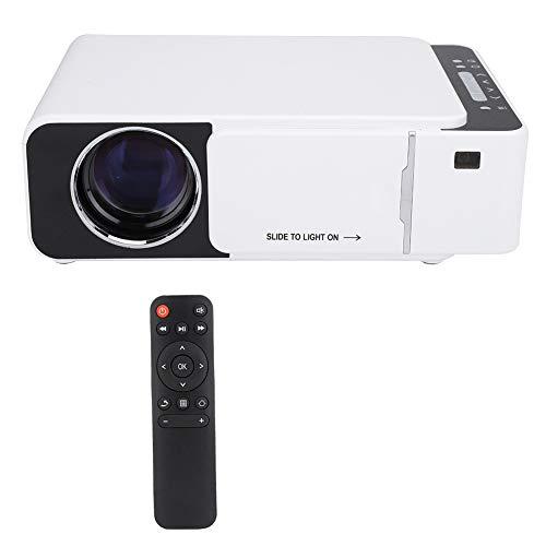 AMONIDA Proyector portátil HD LED en Varios Idiomas, Blanco...