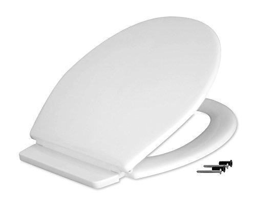 Fominaya 0153600010 Tapa inodoro en polipropileno, color blanco