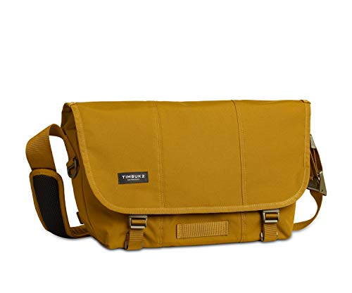 TIMBUK2 Lightweight Flight Messenger Bag, Brass/Army, Small