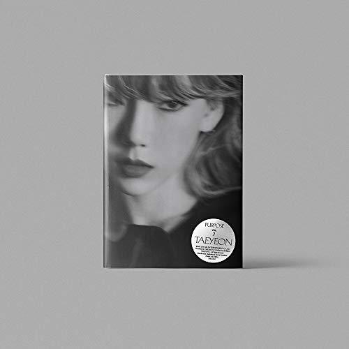 SM Entertainment TAEYEON - Purpose [Random ver.] (Vol.2) CD+152p Photobook+Photocard+Folded Poster+Double Side Extra Photocards Set