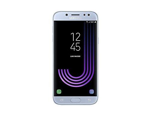 Samsung Galaxy J5 (2017) Smartphone, Argento, 16 GB Espandibili, Mono SIM