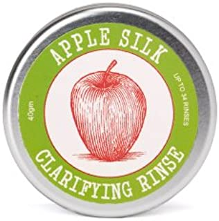 Eco-Friendly Apple Silk Clarifying Hair Rinse   Restores Health to Hair by Removing Hair Product Residue   Rebalances the PH of Scalp   Alternative to Apple Cider Vinegar   Travel Friendly