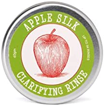 Eco-Friendly Apple Silk Clarifying Hair Rinse | Restores Health to Hair by Removing Hair Product Residue | Rebalances the PH of Scalp | Alternative to Apple Cider Vinegar | Travel Friendly