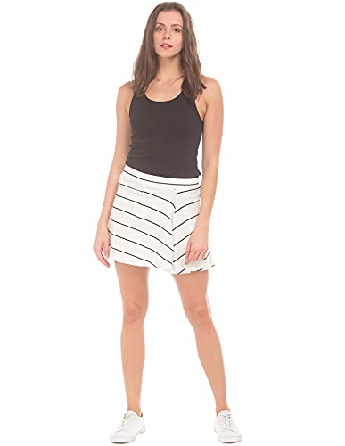 Sugr by Unlimited Women's A-Line Skirt (272445388 Non Denim Bottom...