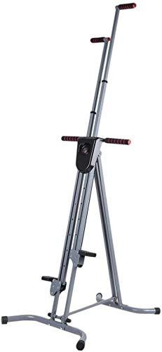 YUHT El Escalador Vertical, Gimnasio en casa Escalada máquina con Pantalla LCD Universal Inicio de Pasos del Edificio de Cuerpo Durable Escalada Máquinas de Ejercicios Fitness Equipment