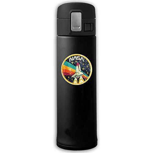 Top Wholesale NASA Rocket Travel Mug Stainless Steel Thermal Mug Vacuum Flask Leakproof Coffee Mug with BPA Free Easy-Clean Lid Keeps Cold Or Hot