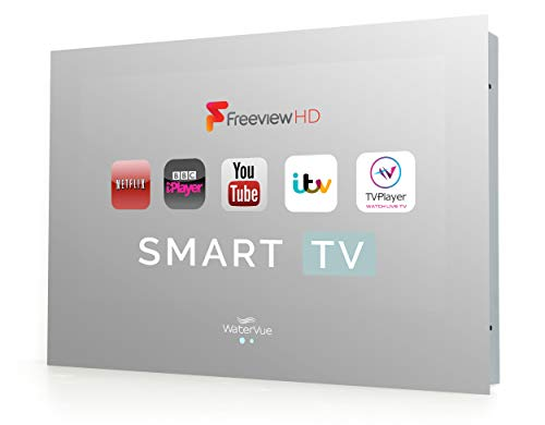 Waterproof Smart TV, 24 Inch Bathroom Smart TV - Mirror Waterproof TV. Bathroom Wifi TV, Waterproof Smart TV - connect to your favourite streaming apps via one waterproof remote