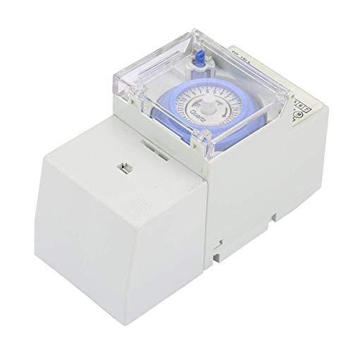 Interruptor de tiempo programable, interruptores de tiempo digitales con pantalla LCD, microordenador doméstico DIY para luces para electrodomésticos