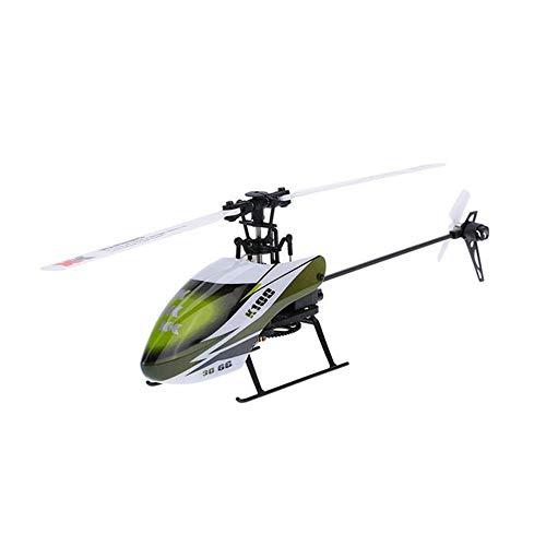 K100 6CH 3D-6G-System Fernbedienung Spielzeug Brushless Motor RC Hubschrauber Mit Transmitter Kompatibel Mit FUTABA S-FHSS
