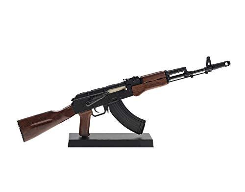 Ghost Modell Dummy Waffe - Dekoratives Metall-Mock-up mit Präsentationsständer-A Sammlerstück: Kit # 3 AK47-Gewehr