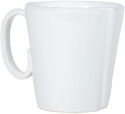 Vietri Lastra White Mug