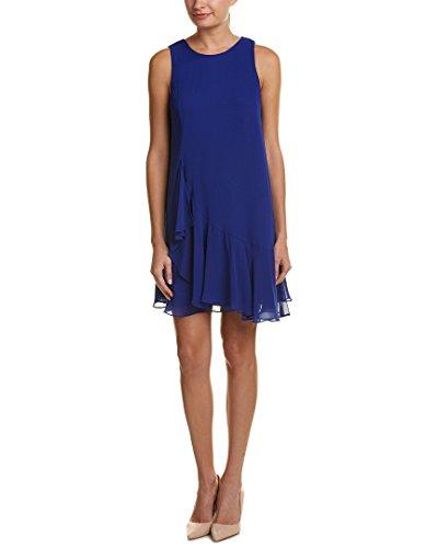 Eliza J Women's Ruffle Float Dress, Cobalt, 10