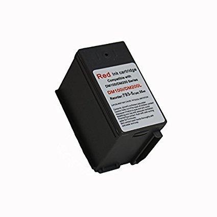 Pitney Bowes Compatibe 793-5 Red Ink Cartridge for P700, DM100i, DM125i, DM150i, DM175i, DM200L, DM225 Postage Meters Photo #3