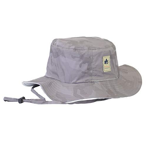 ロゴス(LOGOS)撥水アドベンチャーハット帽子ハットアウトドアブランド撥水加工701Q(99グレーカモ)