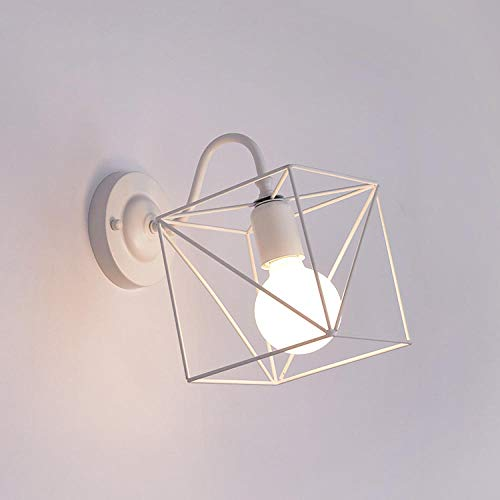 Moderne 3D Cube Led Indoor Wandlamp Nordic Smeedijzeren Muur Ophangende Wandverlichting Lampen Bedzijde Trappen Vanity lamp Kamer Home Decoratie
