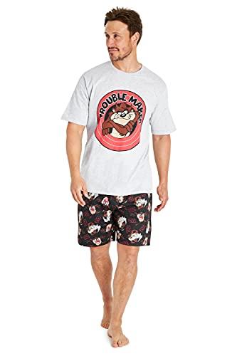 Looney Tunes Pijama Hombre Verano,...