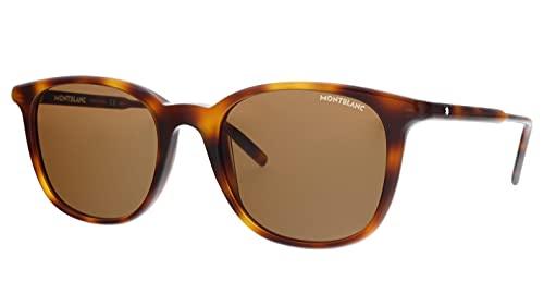 Gafas de Sol Mont Blanc MB0006S HAVANA/BROWN 52/20/150 hombre