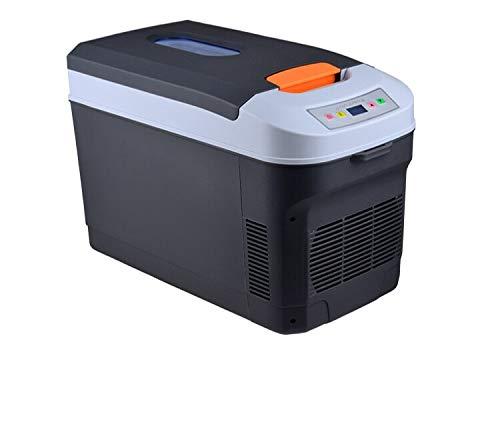 ZLININ Refrigerador termoeléctrico de 22 L para coche y congelador AC100-240v/50/60hz DC12V portátil mini refrigerador refrigerador del coche refrigerador del coche (nombre del color: negro)