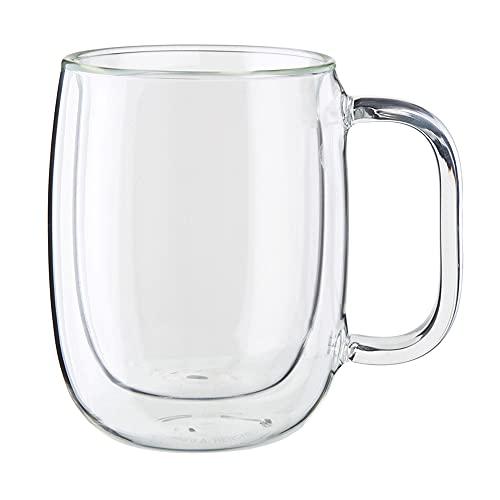 ZWILLING Sorrento Plus Kaffeebecher-Set aus doppelwandigem Glas, 8-teilig