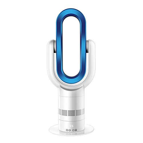 WSSZZ319 Klingenloser Fan Umluftheizung Oder -Kühlung Dual-Use-Sicherheitsventilator Mit Fernbedienung,Blue