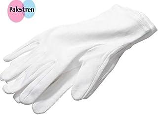 PALESTREN® - Guantes de algodón para manos suaves,
