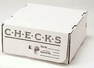 EGP Corrugated Check Storage Box, 10
