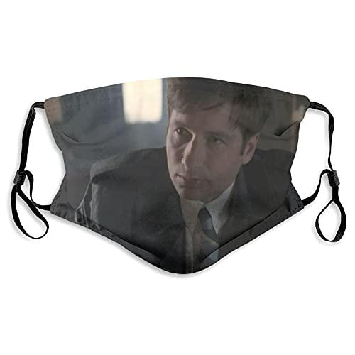 The X-Files - Mascarilla de tela lavable para adultos, reutilizable y ajustable, con bolsillo para filtro de polvo