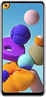 موبايل سامسونج جالاكسي A21s SM-A217FZBGEGY بشريحتين اتصال - شاشة 6.5 بوصة، 64 جيجابايت، 4 جيجابايت رام، شبكة الجيل الرابع ...