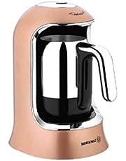 Korkmaz A860-06 kahvekolik otomatik kahve makinesi rosagold/krom