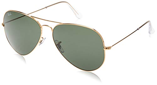 Ray-Ban MOD. 3026 Ray-Ban Sonnenbrille MOD. 3026 Aviator Sonnenbrille 62, Gold