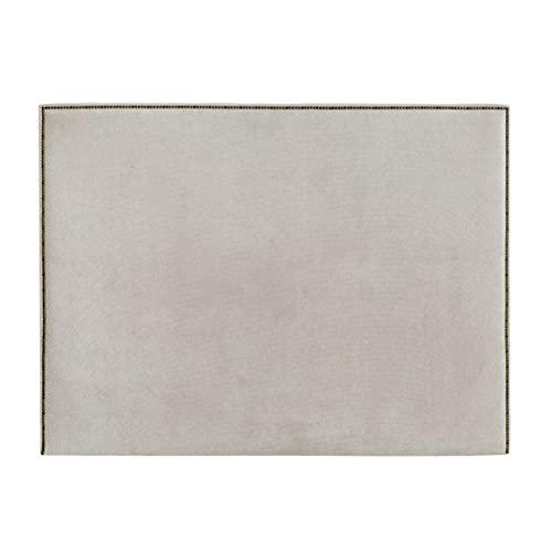 Kenay Home - Cabecero Cama 135 Tapizado, Cabezal Tapizado 135:145x120cm (AnchoxAlto) Nido Perla 4 Incluye Anclajes Solum