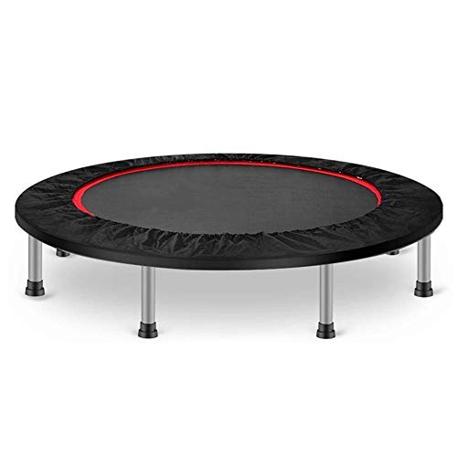 BUSUANZI Trampoline Foldable Trampoline For Adult Perfect Bounce For Adults Indoor Training Weight Up To 300KG,40inWithoutArmrest