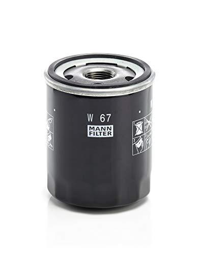 Original MANN-FILTER Ölfilter W 67 – Für PKW