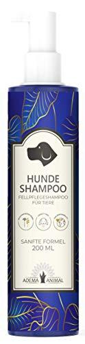 Adema Animal Nieuwe hondenshampoo - shampoo voor honden en puppys lang haar & kort haar tegen jeuk - bij vachtgeur of vachtverversing - mijten - vlooien- luizen - paddenstoelen - veganistisch