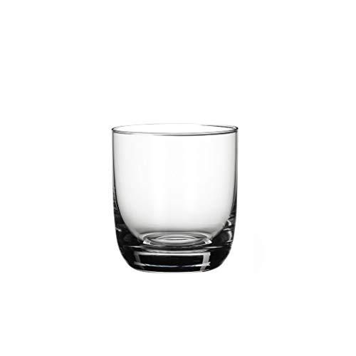 Villeroy & Boch La Divina set di bicchieri da whisky, 360 ml, 4 pezzi, cristallo, trasparente