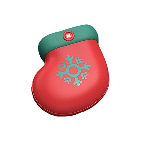 Casa Perfetta Draagbare handwarmer voor thuis, 2-in-1, oplaadbare handwarmer, herbruikbare elektronische verwarmingshandwarmer en USB-externe batterij, mobiele stroomvoorziening