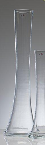 Glasvase Big SOLIFLEUR klar konkav 70 cm Ø 17 cm von Sandra Rich