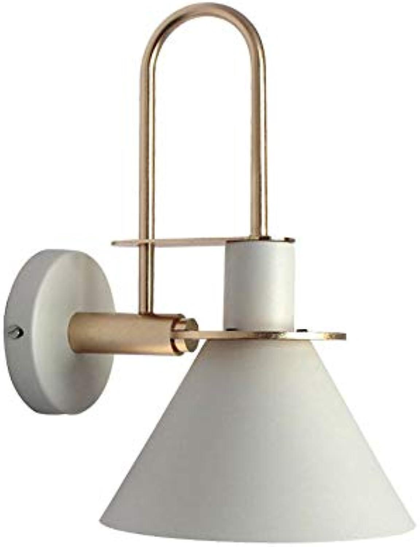 Skingk Moderne minimalistische Macaron-Wandleuchte Moderne einzelne Scheinwerferlichter für Wand-Wohnzimmer-kreativer Hintergrund-Wand-Gang-Wandlampe nordische Macaron-Persnlichkeitsschlafzimmer-Nach