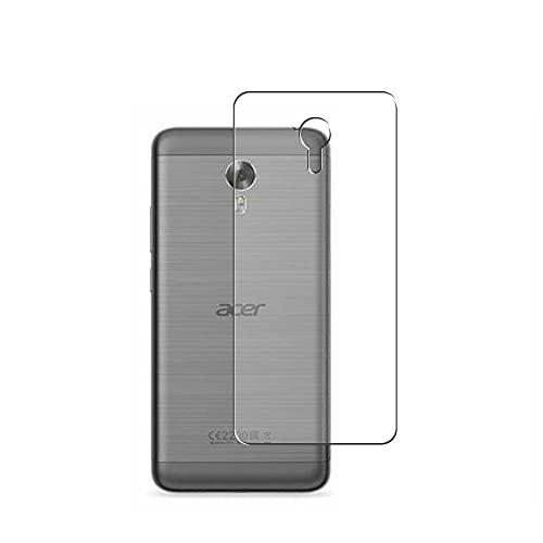 Vaxson 2 Stück Rückseite Schutzfolie, kompatibel mit Acer Liquid Z6 Plus, Backcover Skin TPU Folie Haut [nicht Panzerglas Bildschirmschutzfolie Hülle Hülle ]