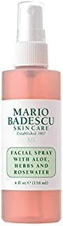 Mario Badescu Facial Spray with Aloe, Herbs and Rosewater (4 oz)